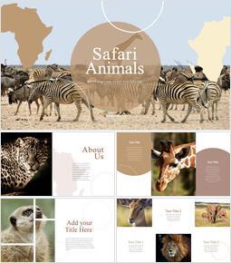 Safari Animals Keynote PowerPoint_00