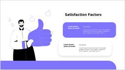 만족 요인 파워포인트 슬라이드_2 slides