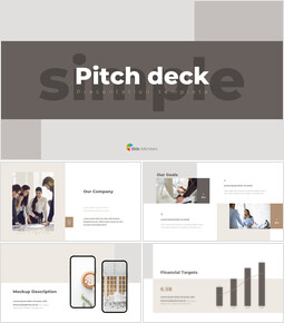 Simple Design Pitch Deck slides presentation_00