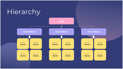 Simple Organization Hierarchy Template Layout_00