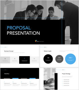 Simple Proposal Presentation Template Keynote Presentation Template_00