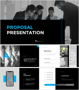 Simple Proposal Presentation Template PPT Business_00
