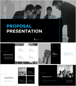 Simple Proposal Presentation Template Startup Pitch Deck_15 slides