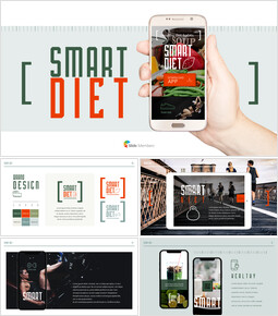 Smart Diet App Background PowerPoint_00