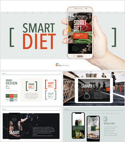 Smart Diet App PPT Keynote_00