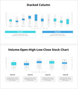 Stacked Column Chart Templates_00