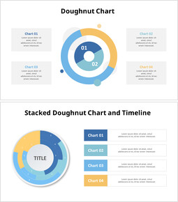 Stacked Donut Chart Template_10 slides