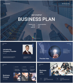 Startup Business Plan presentation slide_00