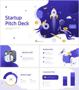 Startup Pitch Deck Template Design Microsoft Keynote_00
