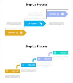 스텝 업 프로세스 다이어그램 PPT_00