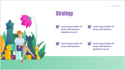 Strategy Template Design_2 slides