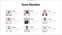 team Member Presentation Deck PPT Design_1 slides