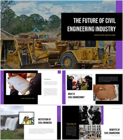 The Future of Civil Engineering Industry PPT Design Templates_40 slides