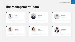 Il team di gestione Layout singolo_1 slides
