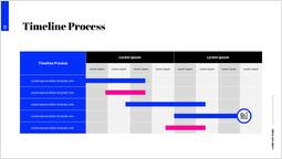 Timeline Process Single Template_2 slides