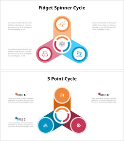 Triangle Circular Diagram Animated Slides in PowerPoint_00