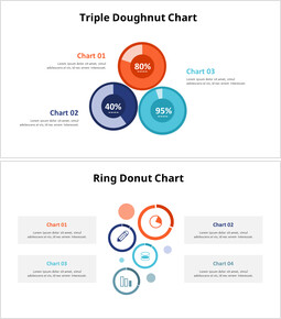Triple Donut Chart Slide_00