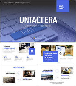 UNTACT ERA Keynote Templates_40 slides