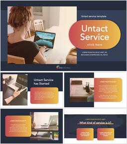 Untact Service Presentazione professionale_00