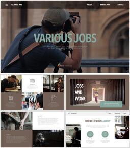 다양한 직업 프레젠테이션 슬라이드_40 slides