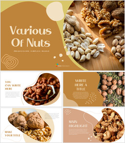 Various of Nuts PPT Slides_00