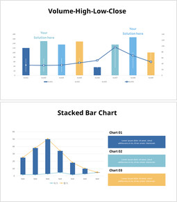 Various Stock Bar Chart Set_00