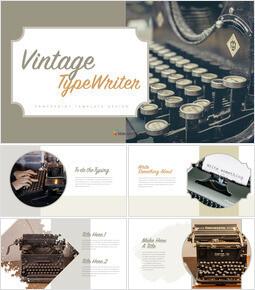 Vintage Typewriter Keynote Presentation_00