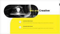 私たちは創造的です シンプルなデッキ_2 slides