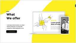 私たちが提供するもの PPTデッキデザイン_2 slides