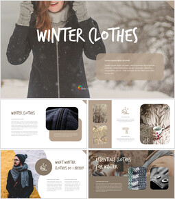 winter clothes PPT Business_00