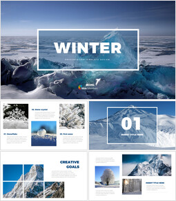 Winter PowerPoint Presentation Design_00