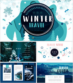 Winter Travel Presentations PPT_00
