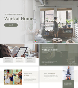 Work at Home PowerPoint Templates for Presentation_00