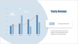 年間収益 ページのデザイン_2 slides