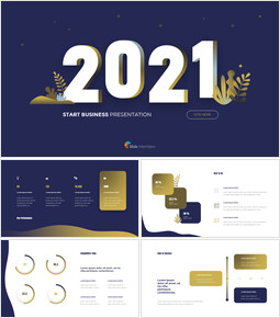 2021 Business Start Pitch Deck investor pitch presentation ppt_14 slides