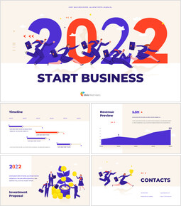 2021 Start Business Template startup presentation template_13 slides