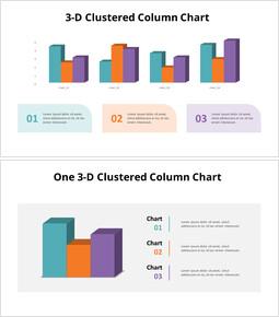 3Dクラスター化縦棒グラフ_16 slides