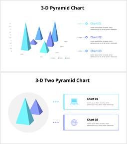 3Dピラミッドチャート_20 slides