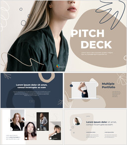 Abstract Style Pitch Deck startup pitch deck ppt_13 slides