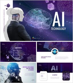 AI Technology Custom Google Slides_50 slides