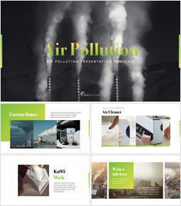 Air Pollution keynote template_35 slides