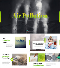 大気汚染 PPTビジネス_35 slides