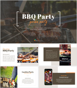BBQ Garden Party PowerPoint Presentation Slides_00