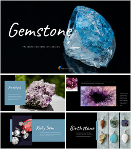 Beautiful Gemstone Google Slides Interactive_40 slides