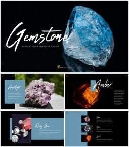 Beautiful Gemstone Professional PPT_00
