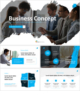 Best Business Concept startup pitch deck ppt_13 slides