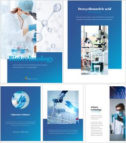 Biotecnología Temas de Presentaciones de Google_25 slides