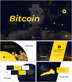 Bitcoin Financial Theme Powerpoint Presentation Video_13 slides