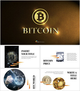 Bitcoin Simple Keynote Template_37 slides