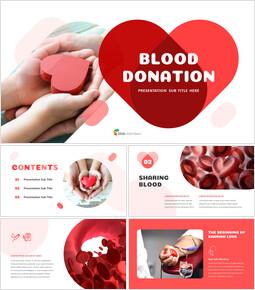 Donazione di sangue Presentazioni di PowerPoint Campioni_35 slides